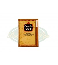 Cigarrilha Captain Black C/ Piteira - Dark Crema c/8