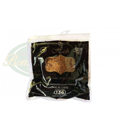 Tabaco Sasso Hash - Extra Suave Virginia Blend - 25g