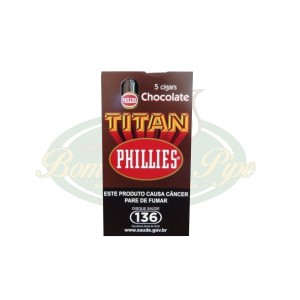 Charuto Phillies Titan - Chocolate C/5