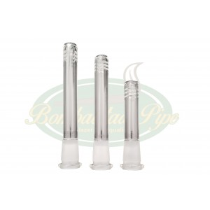 Tubo Downstem P/ Bongs - 18mm Macho e 14mm Fêmea