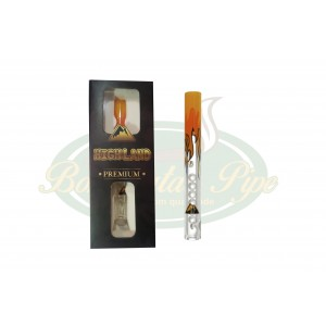 Piteira de Vidro Highland Premium - Elements Fire