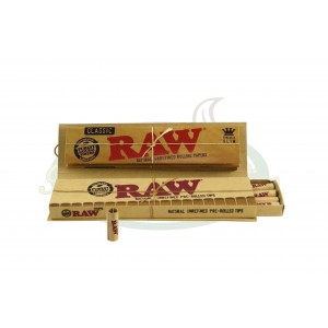 Seda Raw Connoisseur King Size + Tips Enroladas